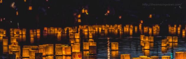 不用去泰国,在美国也能体验水灯节