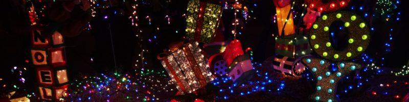 全美圣诞赏灯地图
